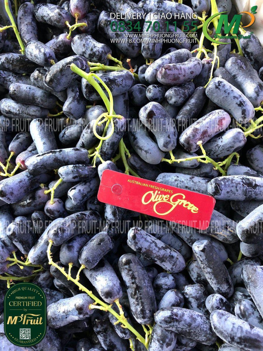 Nho Ngón Tay Olive Grove Úc tại MP Fruit