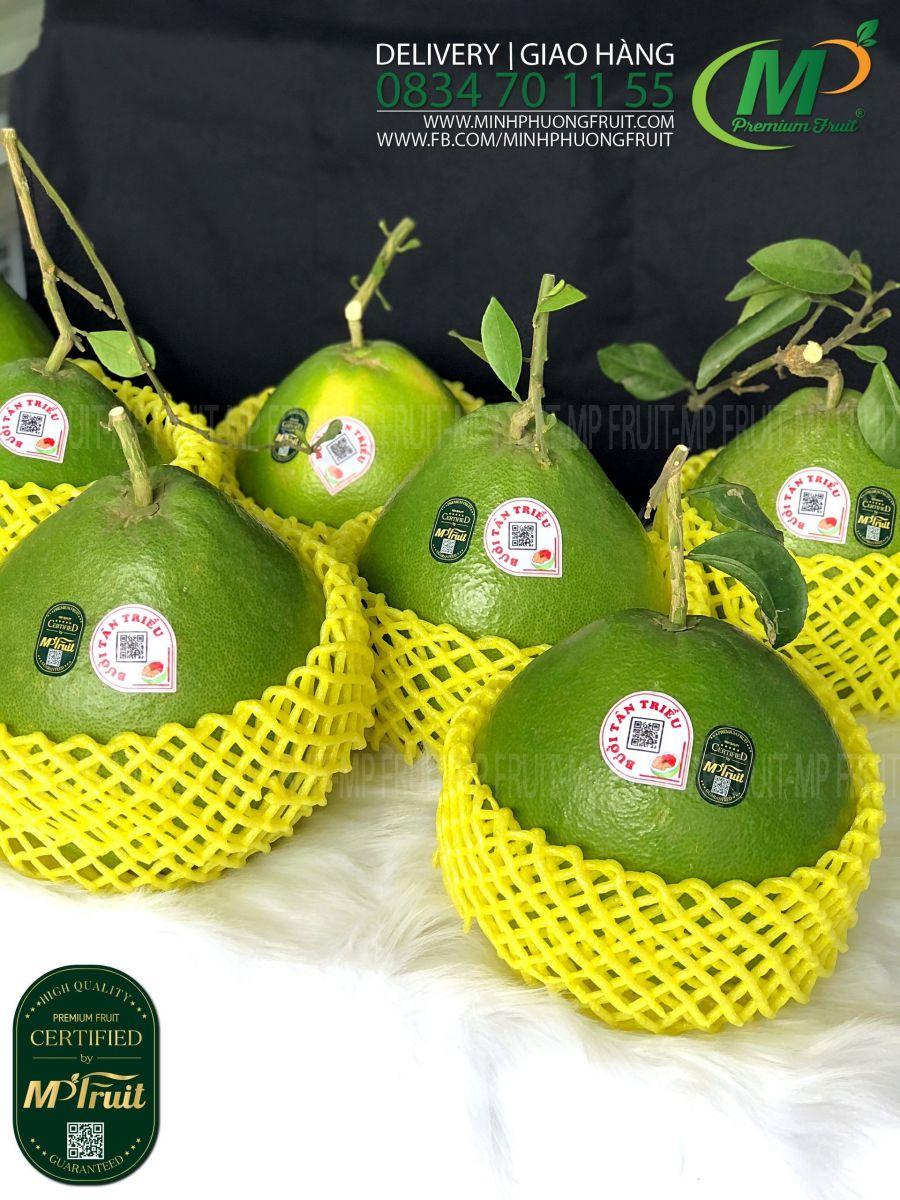 Bưởi Đường Lá Cam Tân Triều Depaco tại MP Fruit