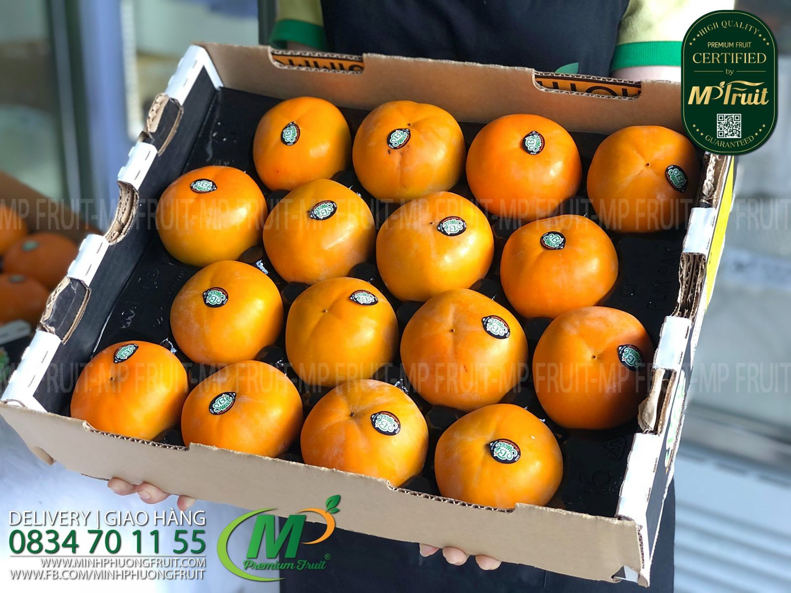 Hồng Giòn New Zealand | B Sweet tại MP Fruits