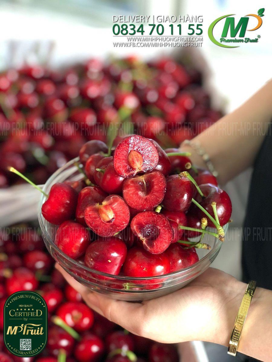 Cherry Đỏ Mỹ Size 9 | Rivermaid tại MP Fruits