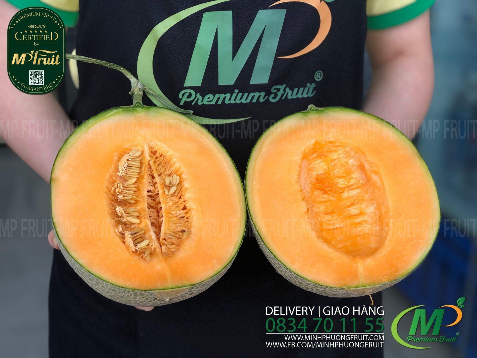 Dưa Lưới Nhật Bản Reiwa (Lệnh Hoà) Melon tại MP Fruits