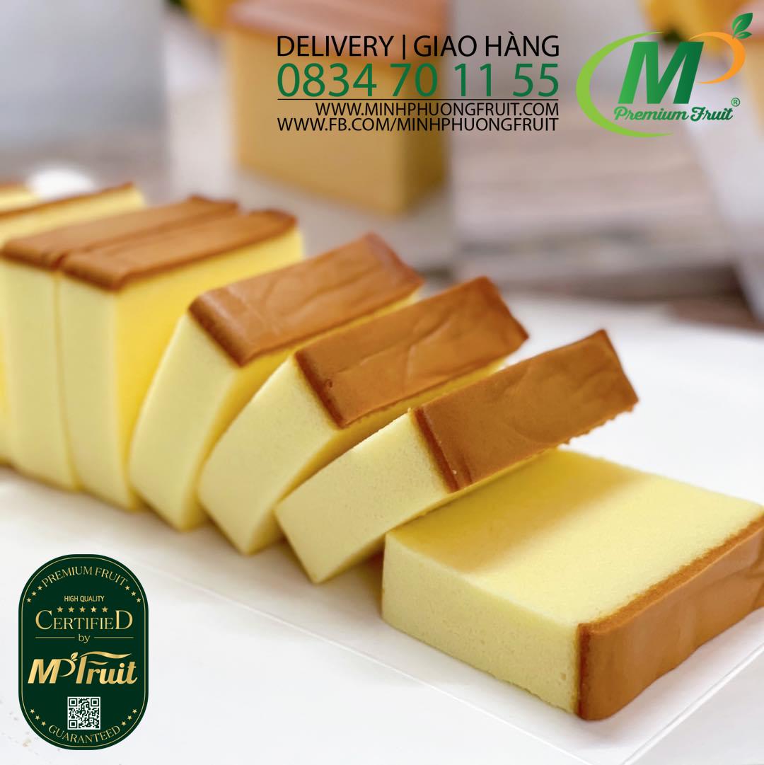 Bánh Bông Lan Phô Mai Tươi Imei Cheese Cake Đài Loan tại MP Fruit