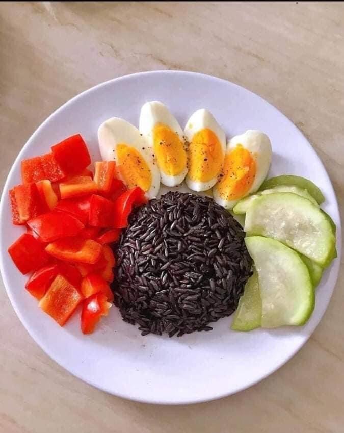Gạo Hữu Cơ Hoa Nắng - Gạo Lứt Tím - Rất thích hợp cho bữa ăn Diet, Healthy - MP Fruit