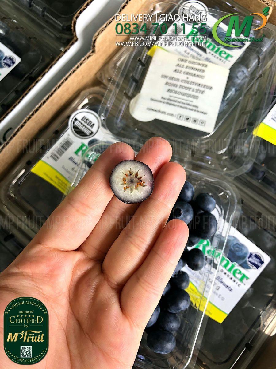 Việt Quất USDA Organic Mỹ   Rainier tại MP Fruit