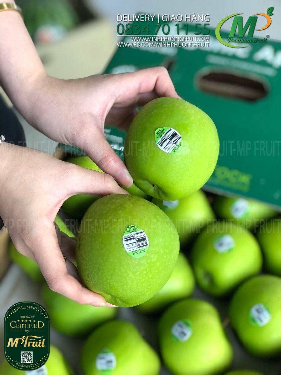 Táo Xanh Granny Smith Organic tại MP Fruit